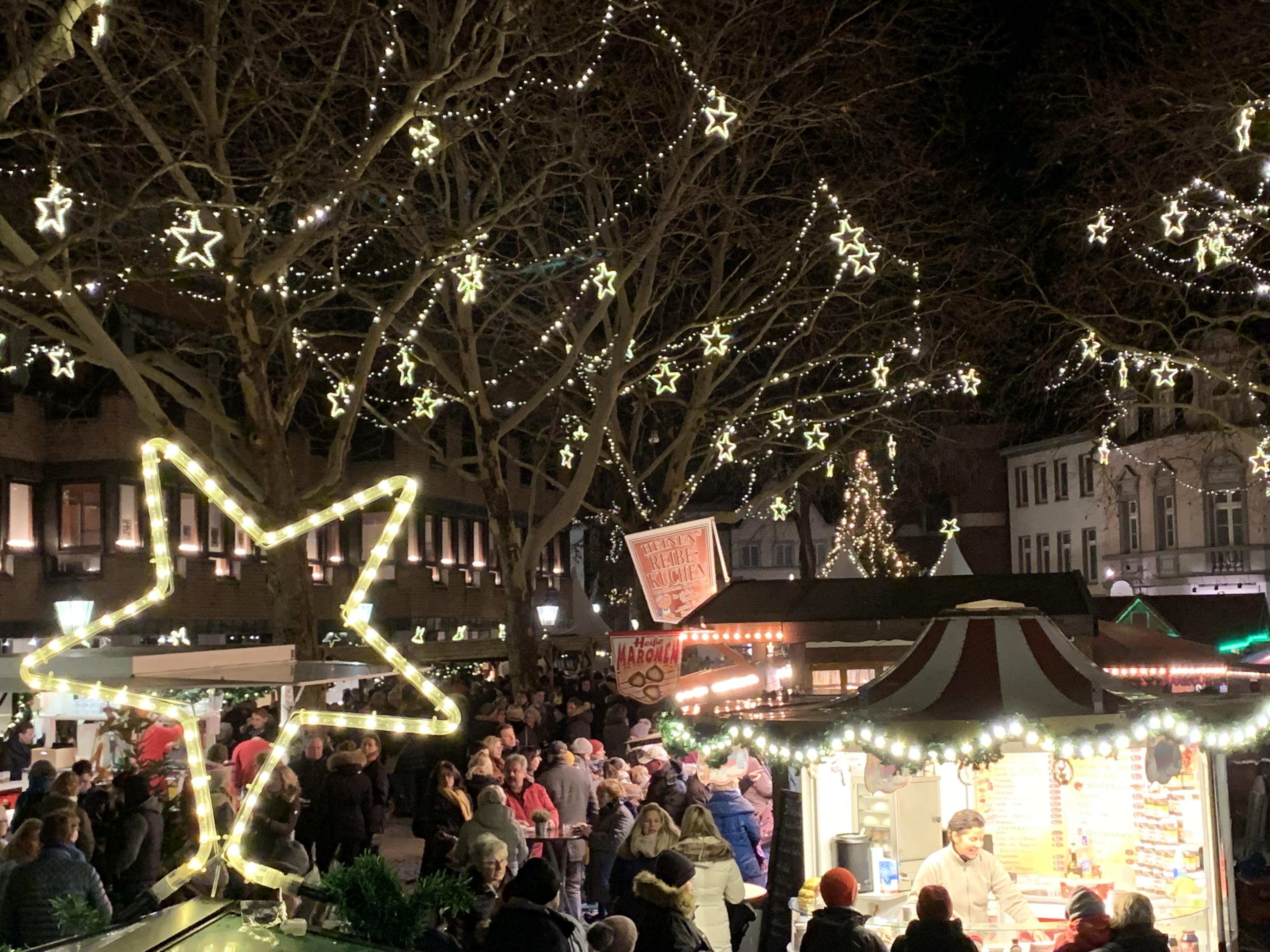 Weihnachtsmarkt Kempen.Markt Der Sterne Markt Der Sterne