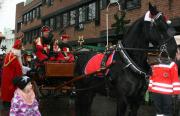 Nikolaus und Pferd